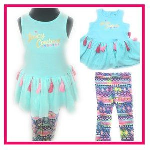 Juicy Couture Tutu 2 piece Set 18M